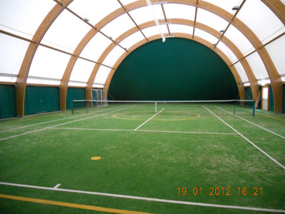 impianto coperto circolo tennis bar smilzo