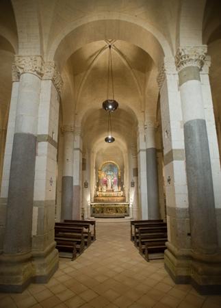 interno della chiesa di santa croce