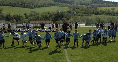 Ragazzi scuola calcio Sassoferrato