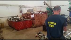 sequestro rifiuti pesaro 1