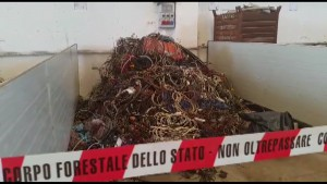 sequestro rifiuti pesaro