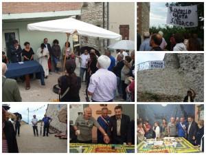 L'inaugurazione e la festa di Rotondo