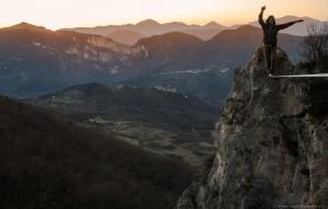 Parco Naturale Regionale Gola della Rossa e di Frasassi-Highliner_Giacomo Becchetti-Ph_Paolo Bacchi