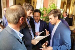 foto incontro con ministro