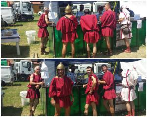 Attenti, arrivano i Romani!