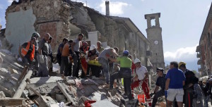 Terremoto, Amatrice devastata