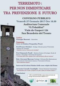 Convengo terremoto Civitanova Marche