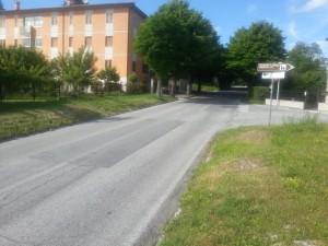 SP 48 cabernardi Montelago tratto Ospedale