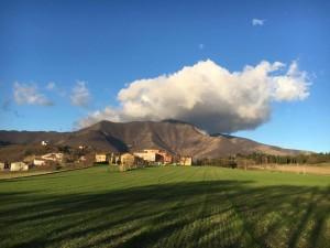 Paesaggio Sassoferrato - Monte Strega