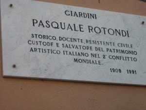 Giardini Pasquale Rotondi-Genova