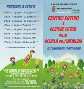 Centro estivo Sassoferrato