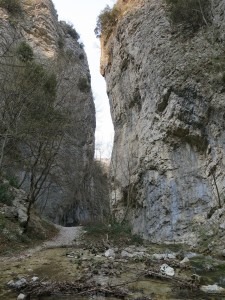 Il sentiero delle Faglie di Apecchio e PIobbico