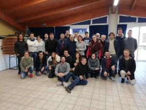 Volontari servizio civile con dirigenti pro loco e formatori
