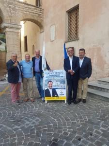 Il partito della Lega a Sassoferrato