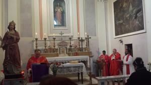 Festa Santa Barbara Parocchia di Rotondo di Sassoferrato