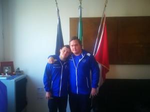 Luca Mancioli e Daniel Gerini