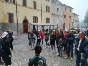 Ciceroni delle scuole di Sassoferrato Castello Borghi più belli