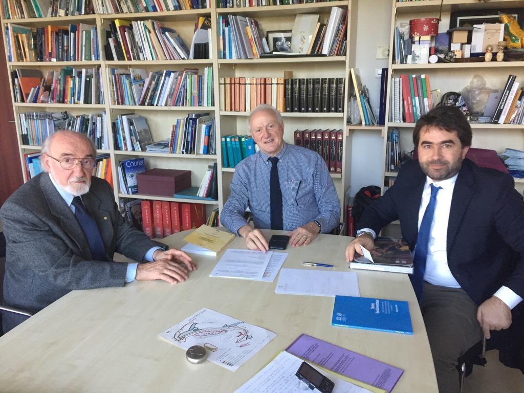 Parigi Unesco, Doma Salvatore Frigerio, Francesco Bernardin Unesco Parigi, Osvaldo Lucciarini Medit Silva