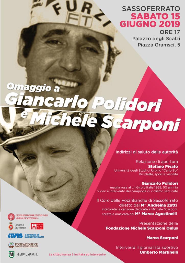 Omaggio a Giancarlo Polidori e Michele Scarponi - Locandina